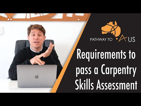 Requirements To Pass A Carpentry Skills Assessment