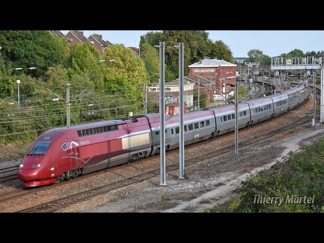 Thalys TGV PBKA - Rame n° 4321