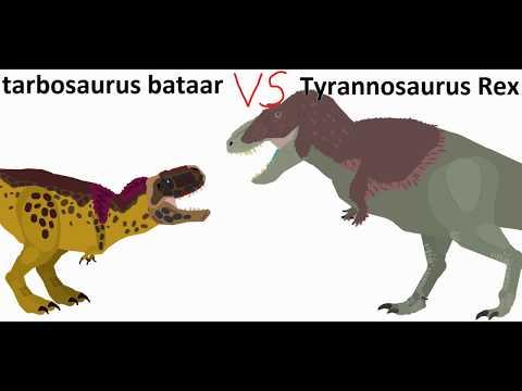 BRS4 Tyrannosaurus Vs Tarbosaurus