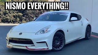 MORE 370z Parts! This is actually a new car now LOL