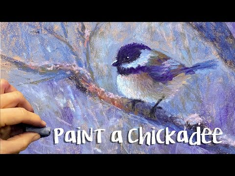 How To Paint A Chickadee!  PLUS New Product Reviews!