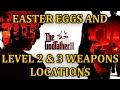 The Godfather II Easter Eggs & All Higher Level Weapons HD