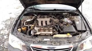 работа двигателя KL Mazda Millenia