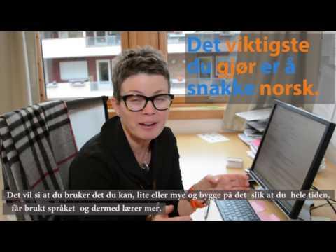 Hvordan kan man lære norsk? Notodden VO 2016