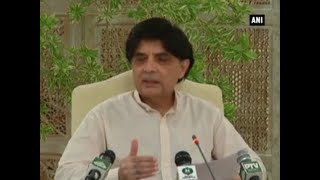 Zero tolerance for terrorism sectarianism: Pak interior minister