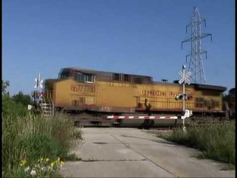 Union Pacific Hopper Train