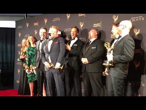 James Corden (Carpool Karaoke) Exclusive 2017 Emmy Awards Press Room Winner Interview
