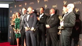 James Corden (Carpool Karaoke) Exclusive 2017 Emmy Awards Press Room Winner Interview