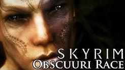 Skyrim Mod: Obscuuri Race - The Shadow Folk