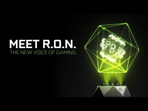 Przedstawiamy GeForce RTX R.O.N. - pierwszy na świecie holograficzny asystent gracza