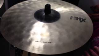 "Sabian HHXtreme 19"" crash"