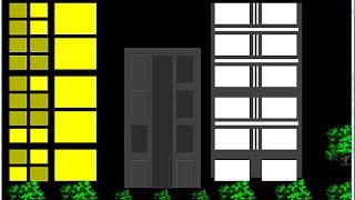 Java NetBeans Graphics Tutorial - How to Draw a Building Environment