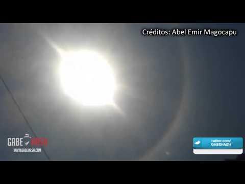 HALO SOLAR EN ACAPULCO, MÉXICO HOY 27 DE AGOSTO 2014 (EXPLICACIÓN)