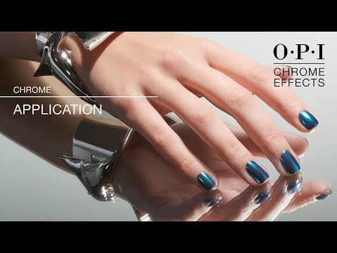 OPI Chrome Effects | GelColor Application