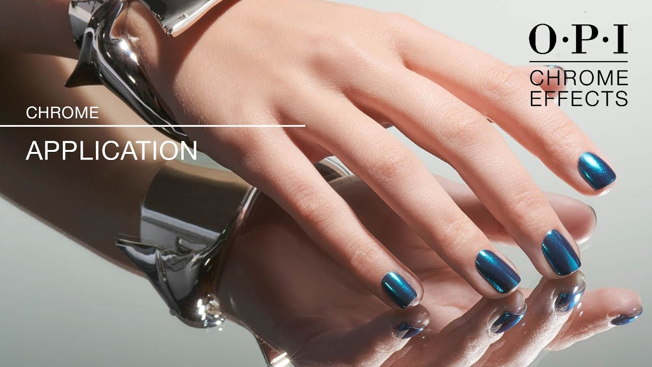 Opi Chrome Effects Gelcolor Lication How To