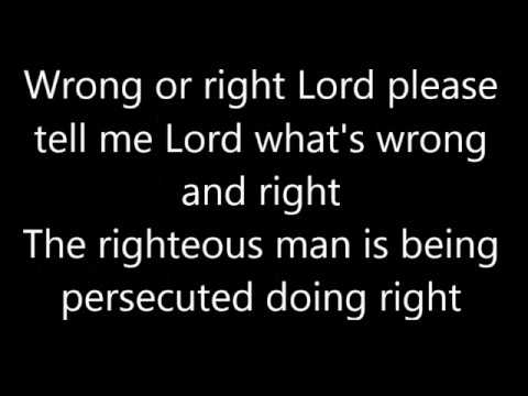 "Christian rap song ""Doing right"" by Tahj + Lyrics"
