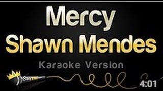 Shawn Mendes Mercy Karaoke Version