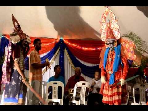 6 FOOT DANCE THERUKOOTHU 2014 THE BATTLE OF MAYAL RAVANAN