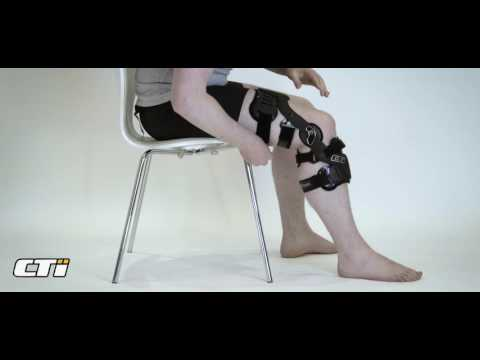 Fitting your CTi Knee Brace for the first time