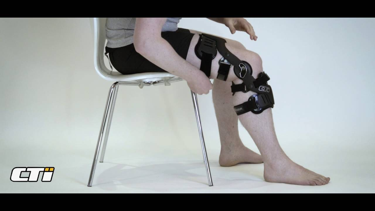 1dc4c665c9 Fitting your CTi Knee Brace for the first time. Össur Academy