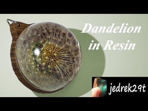 DIY. Dandelion in Resin/Dmuchawiec w Żywicy