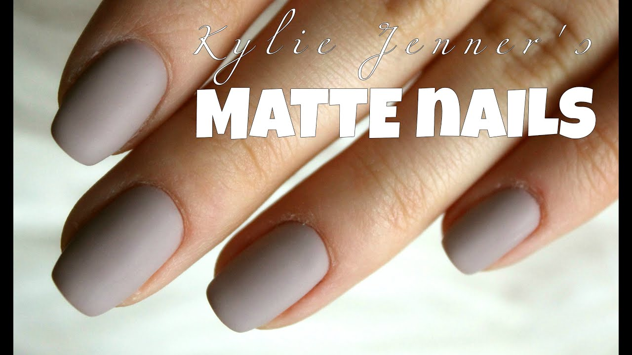Matte Nails Youtube