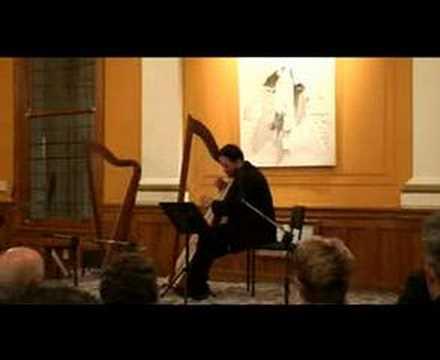 The Rising Lark - Trad Welsh played on Triple-harp