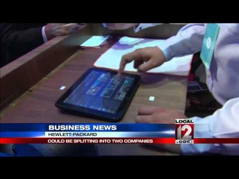 HP splits off printer, PC businesses