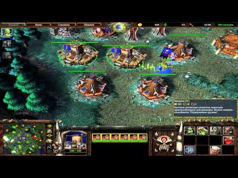 Warcraft FFA за орков - хитрый противник