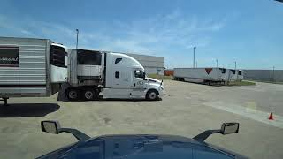 August 9, 2019/649 Trucking. Hooking up from the side. Haslet to Dallas Texas