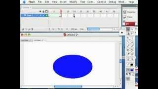 Flash Animation Tutorial - Color Tweening