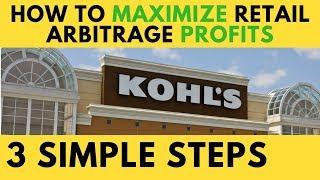 Hacking Kohls for Maximum Retail Arbitrage Profits, Save up to 38.5%, Reselling on Amazon FBA