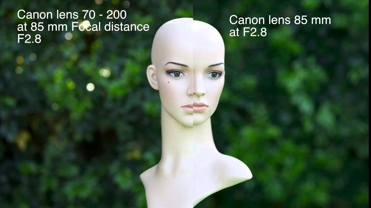 Canon 85 mm F1.2 review, is it the best portrait lens? - YouTube