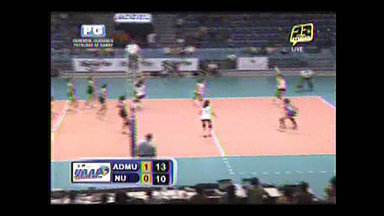 Uaap 74 Admu Vs Nu 1st Round Set2 2wmv