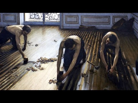 Gustave Caillebotte - The Floor Scrapers / Les Raboteurs de