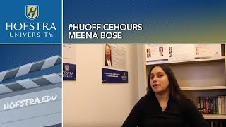 2016 Presidential Race: HU Office Hours with Meena Bose