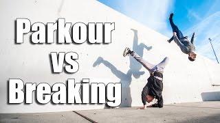 PARKOUR vs BREAK