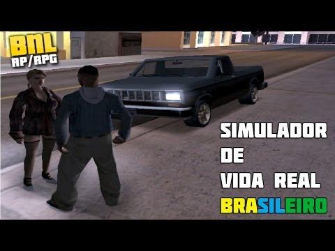 SA-MP Brasil New Life - Início e Hu3ragens ft. Namorada