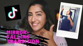 Tiktok Mirror Falling Transition Youtube Cute766