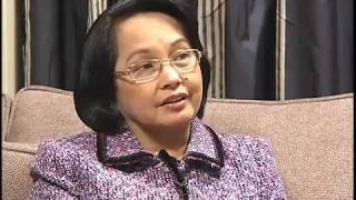 Interview by Bloomberg with President Gloria Arroyo (1/2)