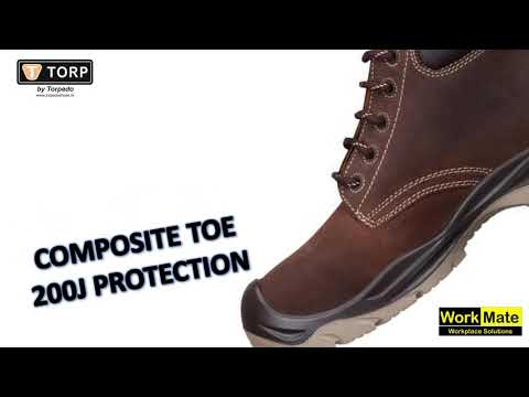 All Weather Safety Shoe - TTORP REDDING 02