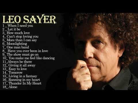 The Best Of Leo Sayer - Leo Sayer Greatest Hits Full Album