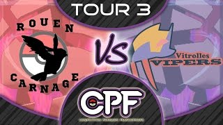 Tour 3: VITROLLES VIPERS VS ROUENCARNAGE! (CPF)