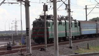 ВЛ80т-1024 с поездом 148 Киев —Одесса по эстакаде
