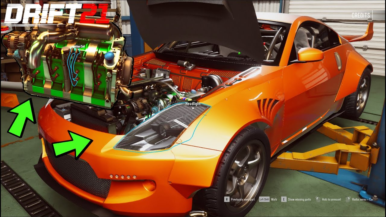 DRIFT21 PC - Building FIRST 1000hp+ 4 Rotor Widebody 350z + FIRST DRIVE Impressions!