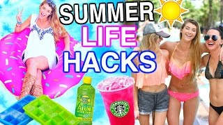 Summer Life Hacks EVERYONE Needs to Know! Katie Betzing