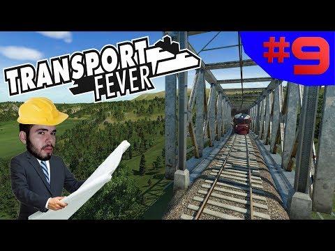 O NORTE ESTÁ CONECTADO!!! - Transport Fever #9 - (Gameplay/PC/PT-BR) HD