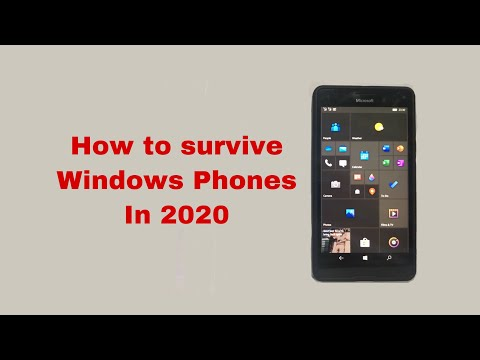 How To Survive Windows Phones In 2020