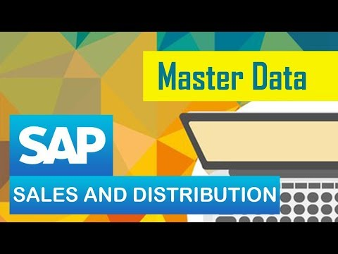 Sap Sd Master Data Customizing Customer Data Part 2