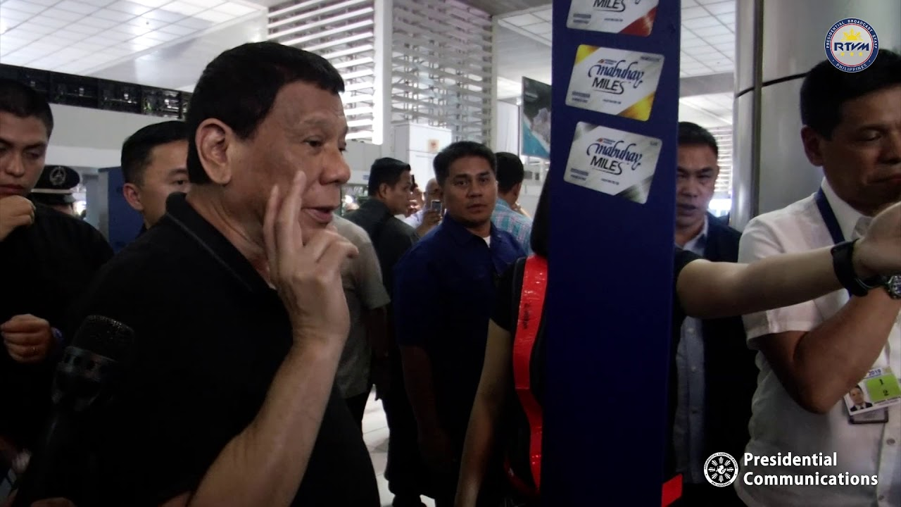 Surprise Inspection at the Ninoy Aquino International Airport (NAIA)  Terminal 2 6/10/2019